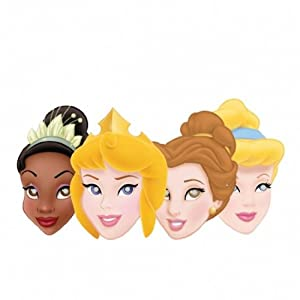 Journey Disney Princess Party Masks Pack Of 4 from Party2u