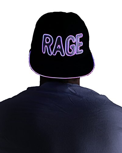 Light Up Hat - Rage (Pink)