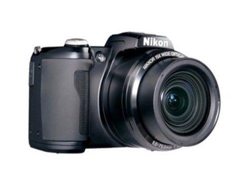Nikon L105 12.1 MP Digital Camera with 15x Optical Zoom – Black
