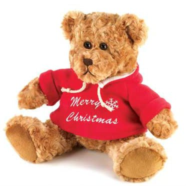 Merry Christmas Plush Teddy Bear back-6041