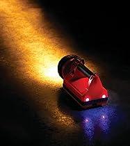 Streamlight 45861 E-Spot Firebox Lantern Standard System with 120V AC/12V DC Charge Cords, Shoulder Strap, and Mounting Rack, Orange