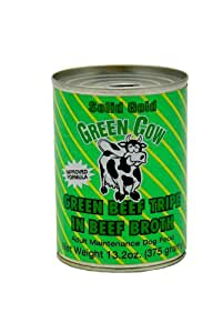 SOLID GOLD 937264 12-Pack Green Cow Tripe Canned Food for Dogs, 13.2-Ounce