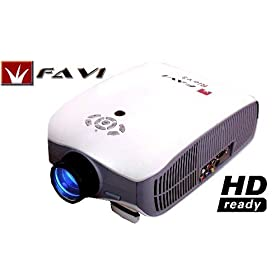 HD LCD Projector w/ extra spare lamp by FAVI, riohdv3