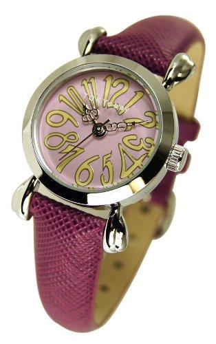 tokyobay-femme-opera-texturouge-cuir-bet-ronde-cadran-montre-in-pourpre