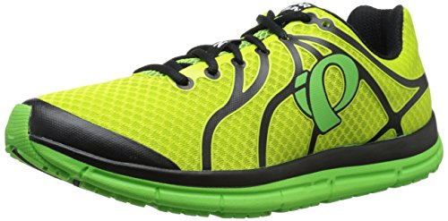 Pearl Izumi Men's EM Road N 2 Running Shoe, Lime Punch/Screaming Green, 9 D US (Full Blown Extreme compare prices)