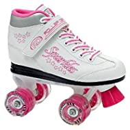 Roller Derby Girls Youth Sparkles Lighted Wheel Quad Roller Skates - 1969