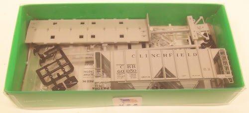 HO KIT 70-Ton 2-Bay Covered Hopper, CRR #3