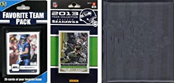 NFL Seattle Seahawks Licensed 2013 Score Team Set and Favorite Player Trading Card... by C&I Collectables