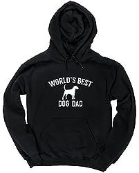 HippoWarehouse Worlds best dog dad unisex Hoodie hooded top