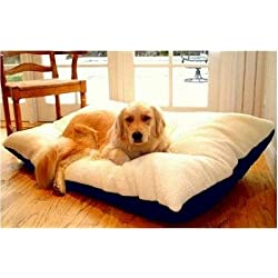 Majestic Pet 42-Inch by 60-Inch Rectangle Pet Bed X-Large Red