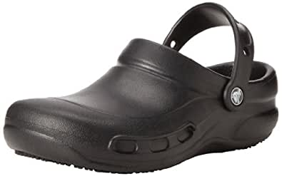 Crocs Men's Bistro Black Ankle-High Rubber Flat Shoe - 7D