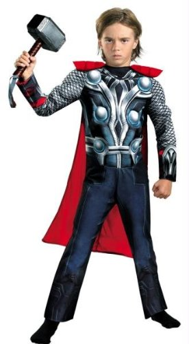 Costumes For All Occasions DG43656L Thor Avengers Classic Muscle 4