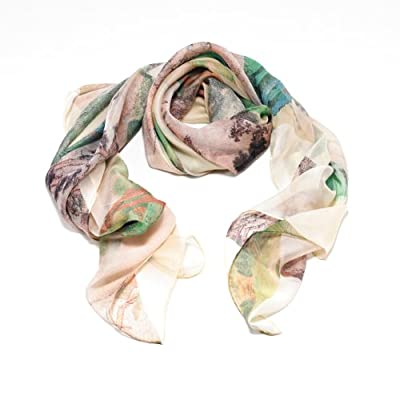 Landscape Mash-Up Scarf - X+Q for the V&A||RHFPR||EVAEX