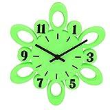green High grade Plastic Wall Clock from GATTS