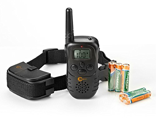 Esky 300M Range LCD Remote Shock Control Pet Dog Training Collar with 100 Level of Vibration+ 100 Level of Static Shock