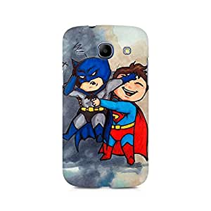 Mobicture Batman and Superman Kids Premium Printed Case For Samsung Core I8262