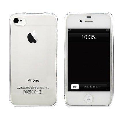 Coque transparente en gel souple (iPhone 4/4S)