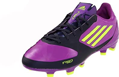 Buy Adidas Ladies F30 TRX FG Football Soccer Cleats-Purple Navy Yellow by adidas