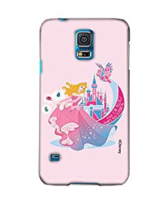 Pick Pattern with Exclusive DISNEY Characters Back Cover for Samsung Galaxy S5 SM-G900I