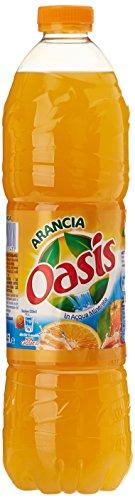 Oasis - Arancia, In Acqua Minerale, Non Gassata - 1500 Ml
