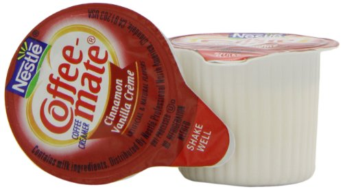 Coffee-mate Coffee Creamer, Cinnamon Vanilla Creme Liquid Singles, 0.375-Ounce Creamers (Pack of 200) at Sears.com