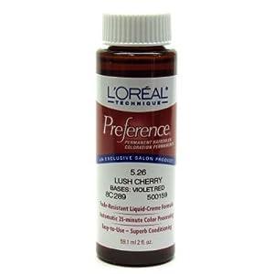 L'Oreal Permanent Haircolor #5.26 Lush Cherry