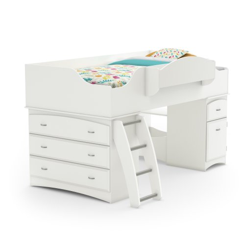 Kids White Bedroom Furniture front-35553