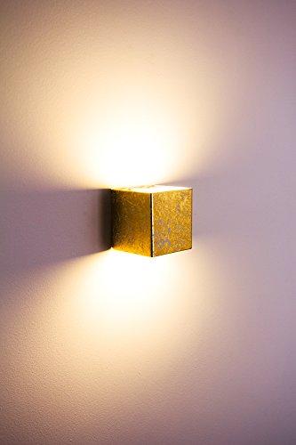 LED-Wandlampe-Olbia-goldfarben-5-Watt-350-Lumen-3000-Kelvin