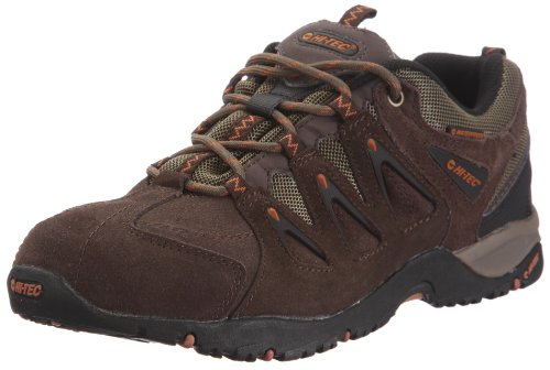 Hi-Tec Men's Tauranga Wp Dark Chocolate/Smokey Brown/Butternut Hiking Shoe O000730/042/01 10 UK