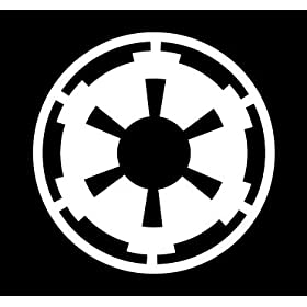 Star Wars Car Window Decal - Galactic Empire