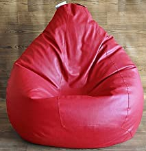 Style Homez Classic Bean Bag Cover - Red - XXL