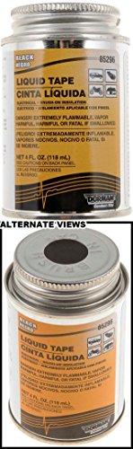 Apdty 96307 4Fl Oz. Black Liquid Electrical Tape
