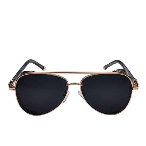 Melodyep 2016 New Round Steampunk Retro Sunglasses Unisex Sunglasses Shade(C5) (Steam O Belt compare prices)