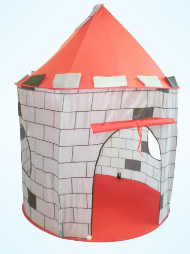 Brave Strong Knight Castle Play Tent (Great for Indoor/ Outdoor)