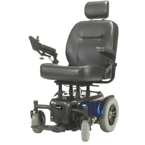 "Activecare Medalist Heavy Duty Power Chair : Blue 24"" Seat"