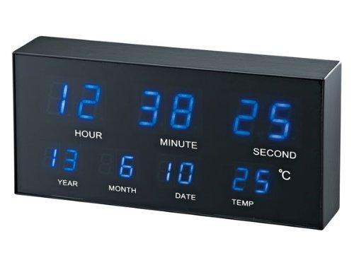 ノア精密 スターネス LED 置き掛け兼用時計 FEW-150 BK