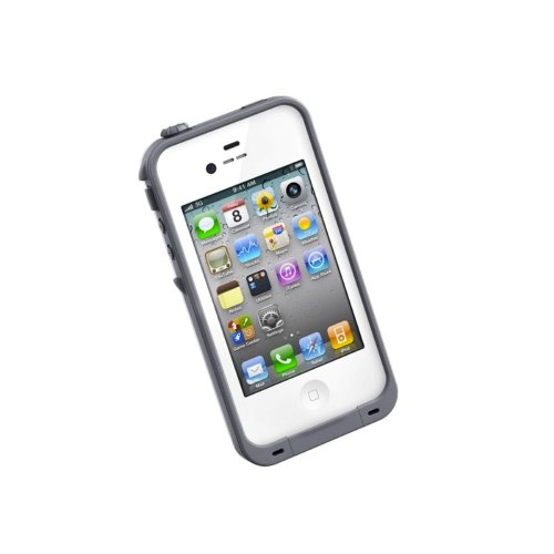 LifeProof iPhone 4/4s Case - White/Grey Image