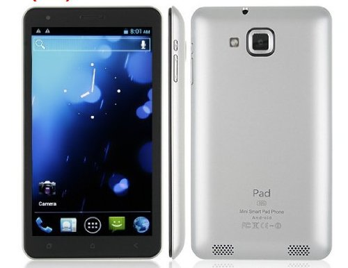 6 inch MTK6577 Android 4.0 WIFI GPS Dual SIM 3G Smart Phone NotePad