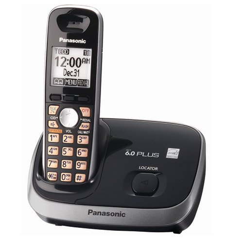 Panasonic KX-TG6511B DECT 6.0 PLUS Expandable Digital Cordless Phone