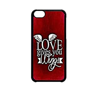 Vibhar printed case back cover for Apple iPhone 5c LoveAir