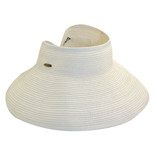 uv-oprolbare-visor-for-women-from-scala-white