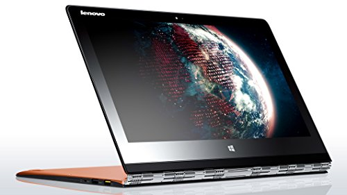 Lenovo Yoga 3 Pro 13.3-inch Convertible Touchscreen Notebook (Intel Core M 5Y70 1.1Ghz (2.6 GHz With Intel Turbo), 8 GB LPDDRIII RAM, 256 SSD, Integrated Graphics, Wi-Fi, Windows 8.1) - Orange