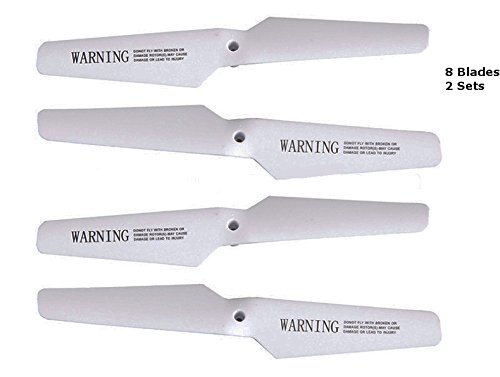 Top Race® TR-Q511 Drone Quadcopter Rotor Blades Spare Blades (2 Sets