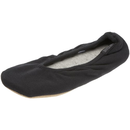 isotoner-stretch-jersey-ballet-womens-low-top-slippers-black-black-xl-uk-40-41-eu