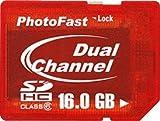 PhotoFast DualCore SDHC 16GB Class6 1年保証・日本語ブリスターパッケージ PF-DDRSDHC16GB