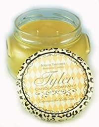 1 X CONNOISSEUR Tyler 22 oz Scented 2-Wick Jar Candle by TYLER