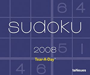 2008 Sudoku Tear-A-Day Calendar teNeues