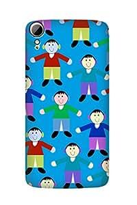 ZAPCASE PRINTED BACK COVER FOR HTC DESIRE 828 - Multicolor