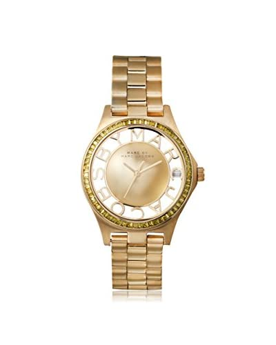 Marc by Marc Jacobs Women's MBM3338 Henry Gold-Tone Stainless Steel Watch