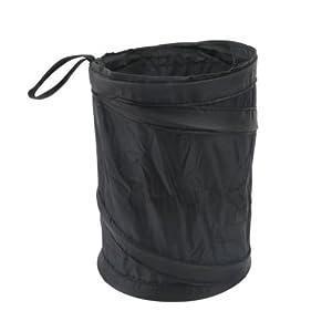 Psmgoods mini collapsible hanging pop up car auto mini trash can garbage bin waste bin storage - Collapsible waste basket ...